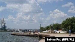 Kerci, Crimeea 2016: una din plajele orașului