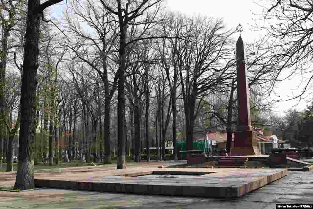 1 января 1919 года здесь похоронили красноармейцев, погибших при разгроме Беловодского мятежа