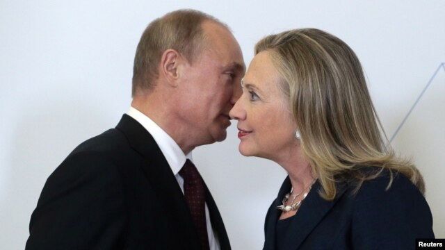 "Hillary Clinton: ""Hard men present hard choices -- none more so than Vladimir Putin."""