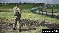 Облаштування російсько-українського кордону в Харківській області, червень 2017 року