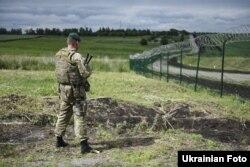 Обустройство российско-украинской границы в Харьковской области, проект «Стена», 15 июня 2017 года
