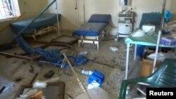 Ռմբակոծված հիվանդանոցներից մեկը, Հալեպ, 14-ը նոյեմբերի, 2016թ.