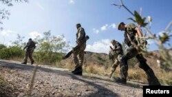 Донбасста Украина хәрбиләре