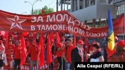 Marşul socialiştilor din 1 mai 2014, Chişinău