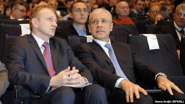 Dragan Đilas i Boris Tadić
