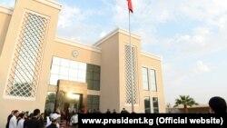 Церемония открытия здания Посольства Кыргызстана в Саудовской Аравии. 16 декабря 2019 года.