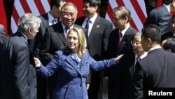 Hillari Klinton në Kinë