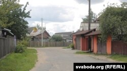 Такія вуліцы схаваныя за гмахамі на вуліцах Багдановіча і Някрасава
