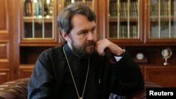 Митрополит Иларион, глава внешних связей РПЦ