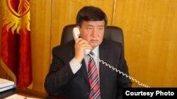 Қирғизистон Бош вазири Сўўрўнбай Жээнбеков.