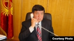 Sooronbai Jeenbekov, deputy head of the Kyrgyz presidential apparatus.