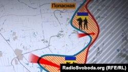 На Світлодарській дузі українські військові повернули Новолуганське, просунулися в напрямку окупованого Дебальцева і зайняли сіру територію в районі Попасної