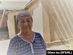 Арыс тұрғыны Мейрамкүл Рсымбетова. Түркістан облысы, 1 тамыз 2019 жыл.