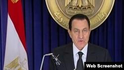 Президент Египта Хосни Мубарак выступил с обращением к народу, 28 января 2011