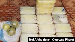 ارشیف، افغانستان کې نیول شوي نشهیي مواد
