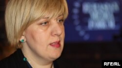 Дунья Міятович, представник ОБСЄ з питань свободи засобів масової інформації (архівне фото)