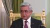 Президент Армении Серж Саргсян, 14 декабря 2017 г.