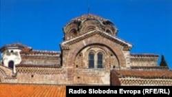 Црквата Св. Богоридица Перивлепта во Охрид