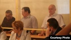 Слева направо: Акжанат Аминов, Серик Сапаргали, Владимир Козлов.