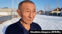 Тарихшы Фемистокл Жүнісов. Зайсан, Шығыс Қазақстан облысы. 7 қаңтар 2020 жыл.