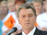 President Yushchenko has criticized the government's safety record
