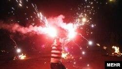 جشن چهارشنبه سوری (عکس از آرشیو)