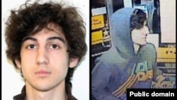 The images of Dzhokhar Tsarnaev Americans are accustomed to seeing -- the remaining suspect in the Boston Marathon bombing
