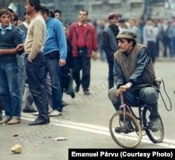 București, 14 iunie 1990 (foto: Emanuel Pârvu)