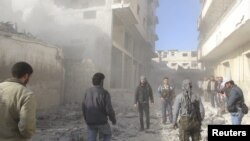 منابع حقوق بشری از کشته شدن حدود ۴۰ هزار تن در اثر خشونتها در سوریه خبر میدهند- عکس آرشیوی است.