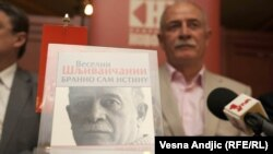 Veselin Šljivančanin, haški osuđenik, na promociji svoje knjige u Beogradu