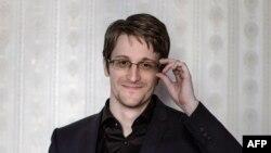 Эдвард Сноуден в Москве, 21 октября 2015 года.