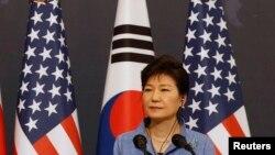 Претседателката на Јужна Кореа Парк Геун Хие