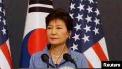 Оңтүстік Корея президенті Пак Кын Хе.