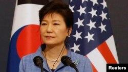 Президент Южной Кореи Пак Кын Хе.
