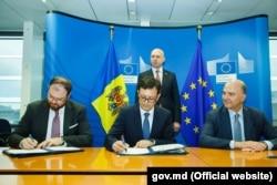 Semnarea memorandumului, 23 noiembrie 2017