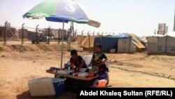 طفال سوريون في مخيم دوميز ـ دهوك