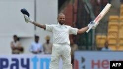 شیکر داون یکی از بازیکنان تیم کریکت هندوستان