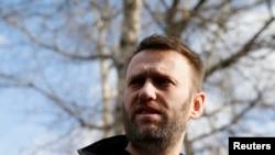 Российский оппозиционер и блогер Алексей Навальный.