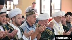 Празднование Оразы в мечети Казани, 4 июня, 2019