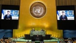 نمایی از نشست سالانه مجمع عمومی سازمان ملل متحد؛ عکس از آرشیو
