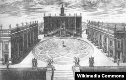 Kapitoli muzeyi üçün Mikelancelonun layihəsi