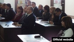 Архивска фотографија: Седница на Совет на општина Охрид.