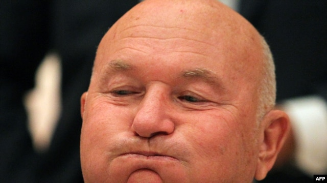 "Moscow Mayor Yury Luzhkov: ""Justifying yourself isn't the way to defend yourself in Russia."""