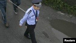 Китайский полицейский. Иллюстративное фото.