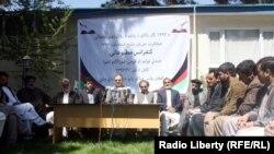 La o conferință de presă a ONG-urilor de la Kabul pe tema alegerilor
