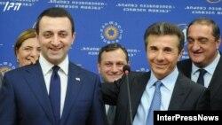 Ираклий Гарибашвили (слева) и Бидзина Иванишвили