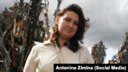 Konstantin Antonets and her husband were detained in the Baltic Sea exclave of Kaliningrad in July 2018.