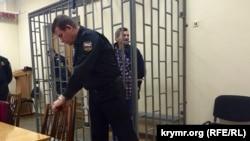 Ahtem Çiygoz mahkemede, arhiv fotoresimi