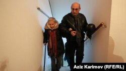 Лейла и Ариф Юнус. Баку, 9 декабря 2015 года.