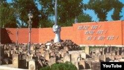 Памятник депортированным вайнахам, разрушенный несколько лет назад кадыровской властью